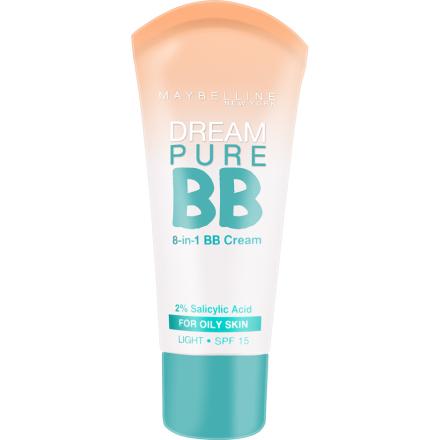 Dream Pure 8-In-1 BB Cream 30ml Maybelline Meikkivoiteet