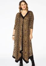 Dress pointy LEOPARD 42/44 brown
