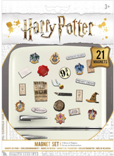 Harry Potter - Wizardry -Kjøleskapmagnet - flerfarget