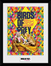 Birds Of Prey - One Sheet Hyena - Inramad bild - multicolor