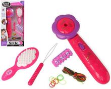 Sæt til Børnefrisør Girl Style Pink 118278