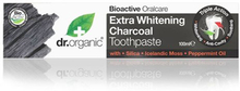 Dr. Organic Tandpasta Extra Whitening Charcoal (100 ml)