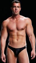 Envy Menswear Low-Rise Thong Black S/M Stringikalsarit
