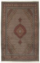 Tabriz 50 Raj med silke matta 205x315 Persisk Matta