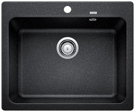 Blanco Naya 6-F UX Køkkenvask 60,4x49,9 cm, Silgranit, Antracit