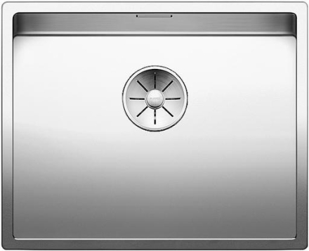 Blanco Claron 500-IF/N UXI Køkkenvask 54x44 cm m/InFino kurveventil, Rustfrit stål