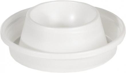 Æggebæger plastik hvid 100stk/pak