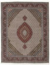 Tabriz 50 Raj med silke matta 203x258 Persisk Matta