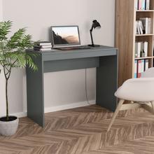 vidaXL Skrivebord grå 90x40x72 cm sponplate
