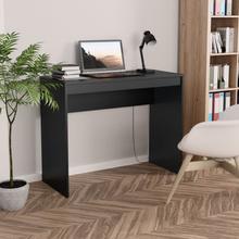 vidaXL Skrivebord svart 90x40x72 cm sponplate