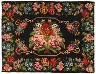 Rosekelim teppe 192x254 Orientalsk Teppe