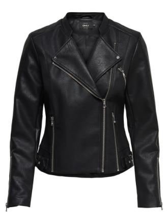 ONLY Biker Jacket Women Black