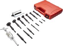 16pcs Inner Bearing Extractor Blind Remover Bushes Puller Slide Hammer Tool Kit