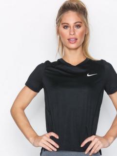 Nike NK Miler Top SS Svart