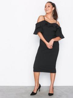 River Island Tanya Dress Fodralklänningar Black