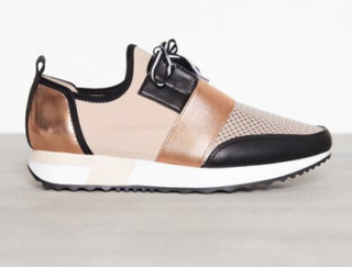 Steve Madden Antics Sneaker Low Top Rose Gold
