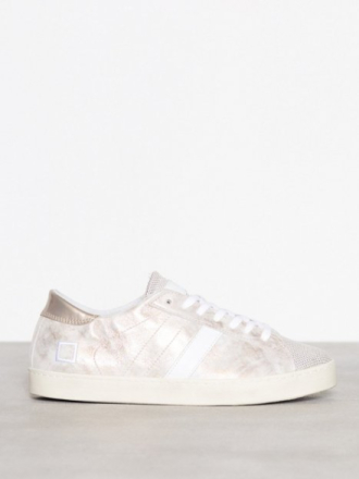 Low Top - Hvit D.A.T.E. Sneakers Hill Low Stardust Rose