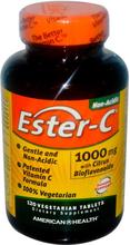 Ester-C- 1000 mg (120 vegetarian tablets) - American Health