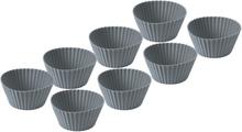 Funktion Muffinsform silikon 8st