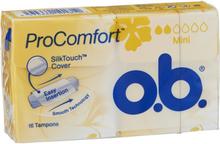OB Tamponger OB ProComfort Mini 16 st