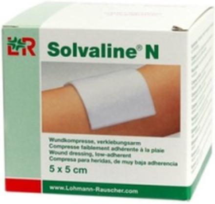 Lohmann Rauscher Solvaline N sårkompress 5 x 5 cm, 25 st