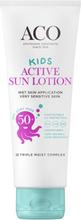 ACO Kids Active Sun Lotion SPF50+, 125ml