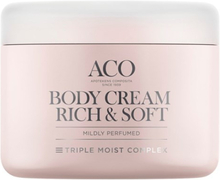 ACO Body Cream Rich & Soft Parfymerad 200ml