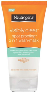 Neutrogena Visibly Clear Spot Proofing 2 in 1 Wash Mask 150 ml