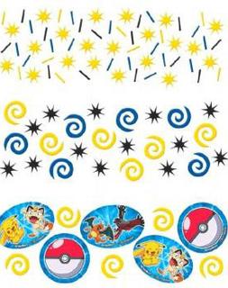 Bordkonfetti - Pokémon Fest