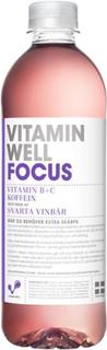 Vitamin Well Focus Svarta vinbär 50 cl