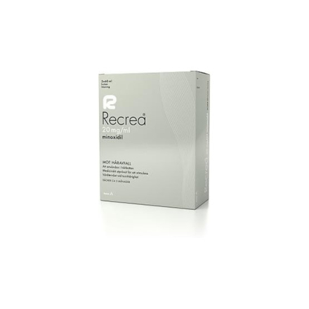Recrea, kutan lösning 20 mg/ml 3 x 60 ml