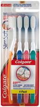Colgate Slim Soft tandborste 4 st