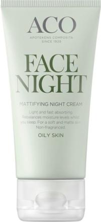 ACO Face Mattifying Night Cream 50 ml