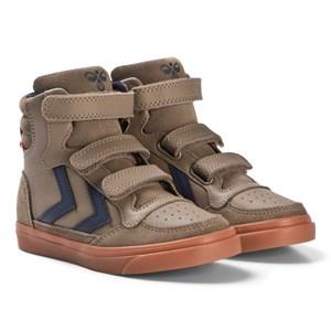 Hummel Stadil Rubber Jr Shoes Taupe Grey 27 EU - Babyshop