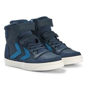 Hummel Stadil Oiled High Jr Shoes Blue Wing Teal 29 EU - Babyshop