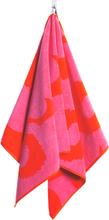 Unikko pyyhe punainen roosa käsipyyhe