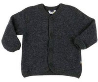 Joha - Cardigan - grå - Merino uld