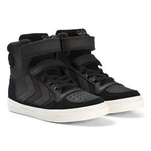 Hummel Stadil Oiled High Jr Shoes Black 28 EU - Babyshop