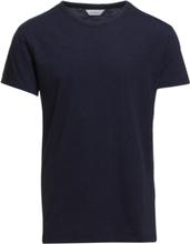 Lassen O-N Ss 2586 T-shirts Short-sleeved Blå Samsøe Samsøe