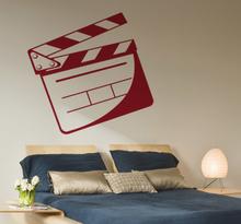 Filmklappe Aufkleber