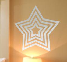 Sticker sterren groot klein
