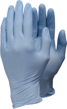 Tegera 84301-serien Engångshandske Blå nitril, Opudrad