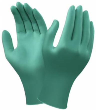 Ansell 92-600 Engångshandske Grön nitril, Opudrad Strl 9,5-10, 100-pack