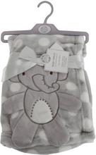 Snuggle Baby Babypojkar / flickor Polka-Dot Elephant Wrap