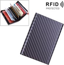 RFID Aluminium fodral till kreditkort - Svart