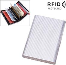 RFID Aluminium fodral till kreditkort - Silver