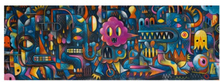 Djeco - Puzzle Gallery - Monster Wall