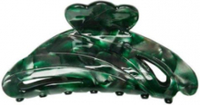 Hermine Hold Solid Hair Clip Green