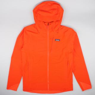 Patagonia Jacket Hood R1 Teckface Red