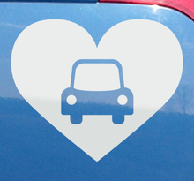 Autoaufkleber Auto Herz
